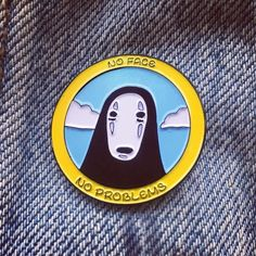 Repost @pinlife  'No Face No Problem' pin available now! Limited to 50! Any order today will get a free random pin hand picked by me chucked in! (Excludes Flip Pop) link in bio or go to www.pinlife.co.uk - don't hang about  #bbllowwnnup    (Posted by https://bbllowwnn.com/) Tap the photo for purchase info.  Follow @bbllowwnn on Instagram for the best pins & patches!