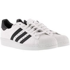 SNEAKERS DONNA SUPERSTAR Adidas Scarpe Donna BRUNAROSSO.COM (2.165 ARS) ❤ liked on Polyvore featuring shoes, sneakers, adidas, adidas shoes, adidas footwear, adidas trainers and adidas sneakers