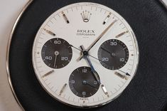 Historical Perspectives: The Very First Rolex Daytona, Explained (Or, What Is A Double-Swiss Underline Daytona?) - HODINKEE Daytona Watch, Rolex Daytona, Ap Royal Oak, Fine Watches, Vintage Rolex, Clock, Accessories, Wristwatches, Change