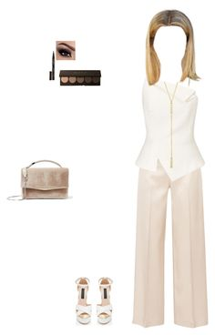 """""""Untitled #1660"""" by perfext-naomie ❤ liked on Polyvore featuring The Row, Roland Mouret, KAROLINA, Jennifer Meyer Jewelry, Eddie Borgo and Smith & Cult"""