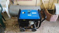 6.5Kva (5.5Kw) generator (petrol), like new. Mac Afric.
