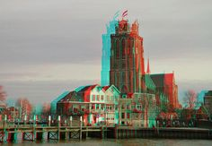 Dordrecht 3D | anaglyph stereo red/cyan | wim hoppenbrouwers | Flickr