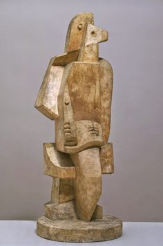 TICMUSart: Seated Man with Clarinet - Jacques Lipchitz (1920)... (I. M.)