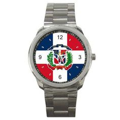 - Dominican Republic Flag - Watch - Great way to show your pride