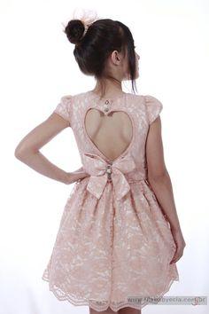 4495ee47b3 Veja nosso novo produto Vestido Infantil Diforini Moda Infanto Juvenil  010782! Se gostar