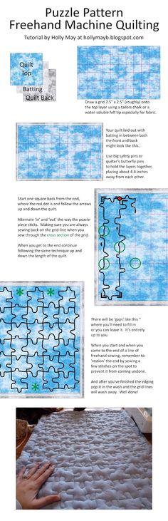 Puzzle Quilting