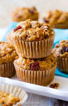 Packed with delicious ingredients, these Simple Morning Glory Muffins are easy to make and perfect for busy mornings.