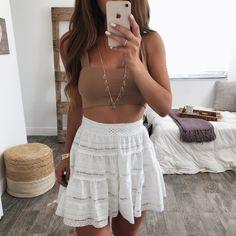 Emmi Eyelet Skirt