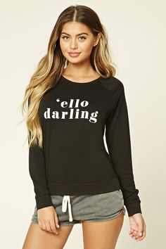 Ello Darling Graphic PJ Tee