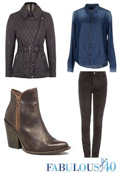 Fall Booties - What You Need to Know to wear this popular trend over 40. #boots #shoes #falltrends