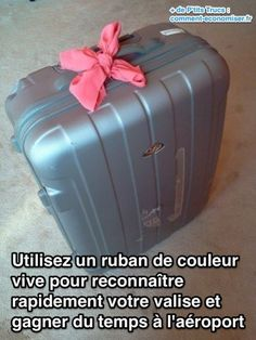 Utilisez cette astuce pour gagner beaucoup de temps à l'aéroport.  Découvrez l'astuce ici : http://www.comment-economiser.fr/astuce-valise-aeroport.html