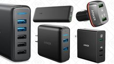 Save An Extra 15% on Anker's New Quick Charge 3.0 Gear