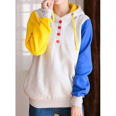 Casual Pockets Design Long Sleeve Hooded Women's SweatshirtSweatshirts & Hoodies | RoseGal.com