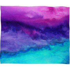 Jacqueline Maldonado The Sound Fleece Throw Blanket | DENY Designs Home Accessories