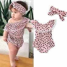 Nouveau Populaire Belle Infant Toddler Enfants Vêtements Filles Floral Dentelle ange combinaison