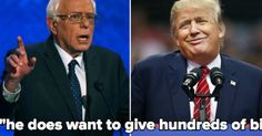 It's on. Bernie Sanders just escalated his war of words with Trump.