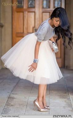 Custom Made 7 Layers Midi Women Skirt Tulle Skirts Adult Tutu Princess Ball Gown Plus size Faldas Saias Femininas White Tulle Skirt, Tulle Skirts, Pleated Skirt, Tulle Skirt Outfits, Skirt Maxi, Tutu Skirt Women, White Tutu, Midi Skirts, Tutu Rock