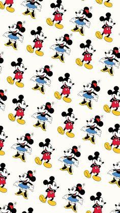 Disney #Mickey #Mouse #Wallpaper #Background #Patterns #Print #PapelDeParede #Desenhos #Ilustrações #FundoDeTela #Textura #Texture #Celular #Iphone #ilustrações #Illustration #arte #art #desenho #print #Graphics #Watercolor #Croquis #inspiration #inspiração #design
