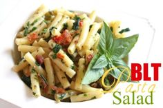 BLT Pasta Salad @createdbydiane