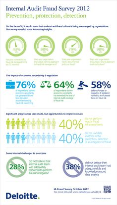 Internal Audit Fraud Survey Infographic