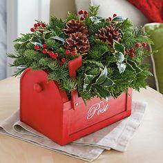 Holiday Centerpiece | Flowers & Plants Gift Baskets | Harry & David