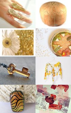A golden moment by June Corst on Etsy--Pinned with TreasuryPin.com