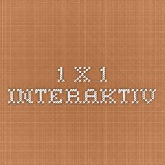 1 x 1 interaktiv Learning Games, Math, Learning