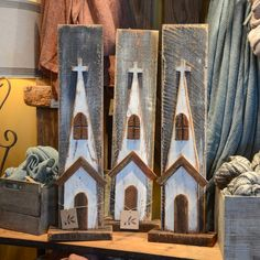 wooden church decor