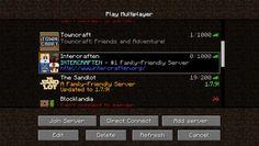 Minecraft Servers List (mcserverslist) on Pinterest