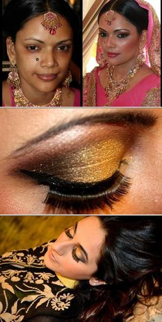 Looking for a makeup artist professional who specializes in Indian and Pakistani bridal makeup look? Hire Sonia Sheikh. She also offers wedding hair styling services.