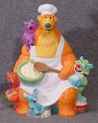 Disney Cookie Jar Gallery: Bear in the Big Blue House: Big Blue House, Antique Cookie Jars, Teapot Cookies, Disney Cookies, Kitchen Organisation, Biscuits, Decoupage Art, Vintage Cookies, Jim Henson