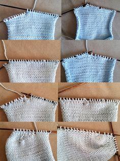 6 Kilen strikkes