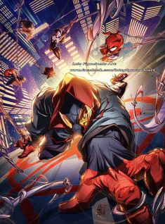 Into the Spider-Verse - Luis Figueirado Marvel Comic Universe, Marvel Art, Marvel Heroes, Marvel Comics, Marvel Ultimate Universe, Spider Verse, Art Spiderman, Spiderman Sketches, Spiderman Suits
