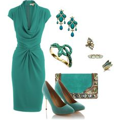 """The Turquoise Snake"" by bethherrmann on Polyvore"