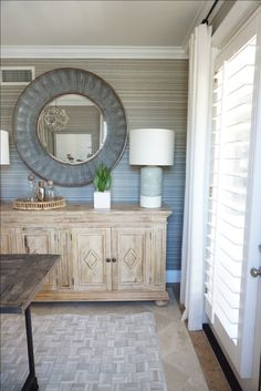 Kathryn Miller Interiors Home Bar Entryway Tables, Dining Room, Interiors, Bar, Cabinet, Interior Design, Storage, Furniture, Home Decor