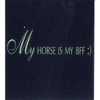"Tee Shirt ""My Horse is my BFF"""