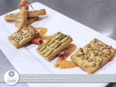 Taller de Materias Primas y Habilidades, Clase de 1º Cuatrimestre, con la chef Mónica Velázquez y platos hechos por los alumnos del ICD