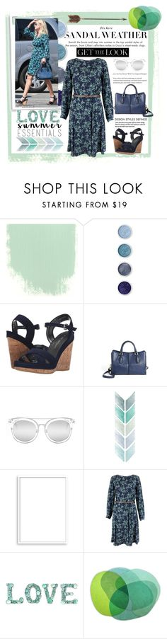 """""""Reese Witherspoon: Get Her Summer Look!!"""" by mf-fashion-and-styling-perth ❤ liked on Polyvore featuring Terre Mère, Stuart Weitzman, Tod's, Quay, Bomedo, Closet, Creative Co-op, floraldress, reesewitherspoon and floralprints"""