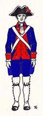 Batallón fijo de Valdivia 1792 Chile
