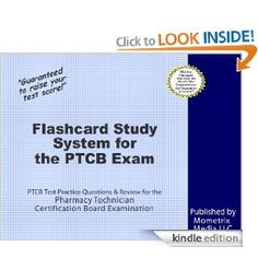 Flashcard Study System for the PTCB Exam: PTCB Test Practice Questions & Review for the Pharmacy Technician Certification Board Examination by PTCB Exam Secrets Test Prep Team. $94.76. 643 pages. Publisher: Mometrix Media LLC (November 17, 2011)