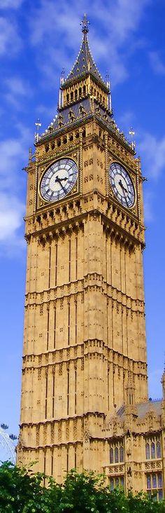 Big Ben (Elizabeth Tower), London, UK