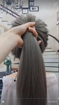 Hairdo For Long Hair, Bun Hairstyles For Long Hair, Cute Hairstyles, Braided Hairstyles, Buns For Long Hair, Birthday Hairstyles, Pigtail Hairstyles, Beach Hairstyles, Step By Step Hairstyles