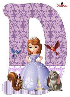 Letra O Princess Sofia disney Princess Sofia Birthday, Princess Sofia The First, Sofia The First Birthday Party, Birthday Party Themes, Mickey Mouse Parties, Mickey Mouse Birthday, Tangled Birthday, Tangled Party, Tinkerbell Party