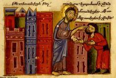 Index of Medieval Medical Images (IMMI) Armenian ms. 1. Glajor Gospels (circa 1301-1325), page 235