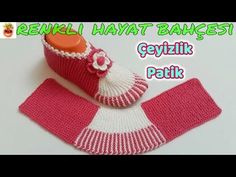 Harasho Booties Knitted with Two Skewers - Knitting Lessons Make An Effort, Raising Kids, Skewers, Fingerless Gloves, Arm Warmers, Slippers, Things To Think About, Diy And Crafts, Crochet Hats