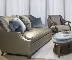 Renee Sofa paired with Camden Chair & Avery Ottoman