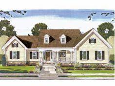 Spacious Living Areas (HWBDO61246) | Country House Plan from BuilderHousePlans.com