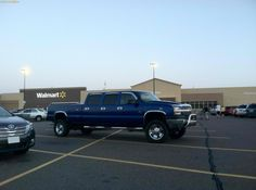 now thats  a crew cab