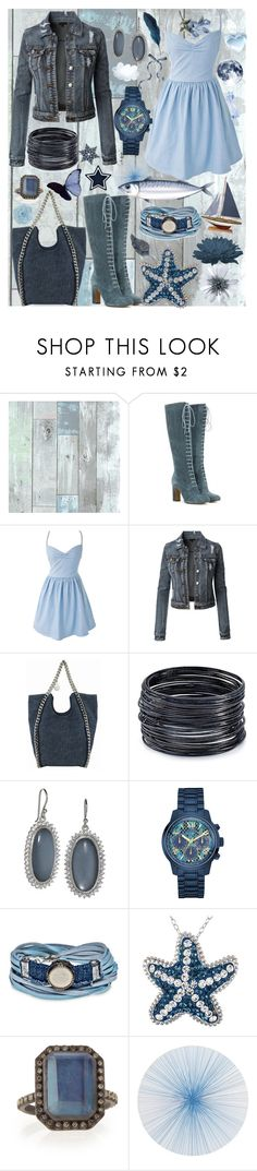 """""""On cloud nine"""" by frizzynorse ❤ liked on Polyvore featuring Etro, STELLA McCARTNEY, ABS by Allen Schwartz, Elizabeth Showers, GUESS, Platadepalo, Crystal Sophistication, Armenta and Tisch New York"""