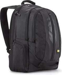 Case Logic Laptop iPad Tablet Rucksack Backpack Case Black NEW Backpack With Wheels, Backpack For Teens, Black Backpack, Backpack Bags, Travel Backpack, Notebook Rucksack, Laptop Rucksack, Macbook Pro Laptop, 17 Inch Laptop